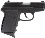 SCCY Industries CPX2CB CPX-2 Carbon 9mm Luger Black Polymer Grip/Frame Stainless Steel Slide *FREE LAYAWAY* - 1 of 2
