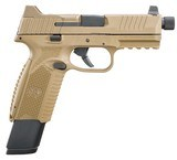 """FN 509 Tactical 9mm Luger 4.50"""" 17+1/24+1 Flat Dark Earth Interchangeable Backstrap **FREE 10 MONTH LAYAWAY** - 2 of 3"""