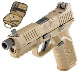 """FN 509 Tactical 9mm Luger 4.50"""" 17+1/24+1 Flat Dark Earth Interchangeable Backstrap **FREE 10 MONTH LAYAWAY** - 1 of 3"""