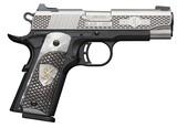"Browning 1911-380 Black Label 380 ACP 4.25"" 8+1 Black Stainless Steel Engraved White Pearl Engraved Grip **FREE LAYAWAY** - 1 of 3"