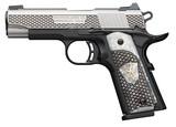 "Browning 1911-380 Black Label 380 ACP 4.25"" 8+1 Black Stainless Steel Engraved White Pearl Engraved Grip **FREE LAYAWAY** - 2 of 3"