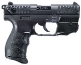 """Walther Arms P22 Q 22 LR 3.42"""" 10+1 Black Black Interchangeable Backstrap Grip with Laser ***FREE 10 MONTH LAYAWAY*** - 1 of 2"""
