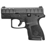 "Beretta APX Carry 9mm Luger 6/8 rd Magazines 3"" Barrel Black