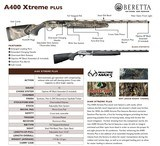 Beretta USA J42XU10 A400 Xtreme Plus 12 Gauge ** 10 MONTH FREE LAYAWAY** - 3 of 3