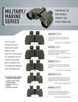 Steiner 2033 Military-Marine 8x30mm Porro Prism Green Rubber Armor**10 MONTH FREE LAYAWAY** - 2 of 3