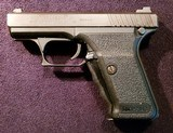 Heckler & Koch P7 M8 chambered in 9mm with a 4 inch barrel