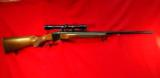 RUGER No.1B SINGLE SHOT RIFLE .300 mag, with Leupold Scope M8-4X - 1 of 12