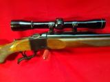 RUGER No.1B SINGLE SHOT RIFLE .300 mag, with Leupold Scope M8-4X - 3 of 12