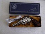 "Smith & Wesson 19-4 Nickel 4"" ANIB"