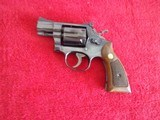 "Smith & Wesson 15-3.38 special Blued 2"" Barrel Revolver"