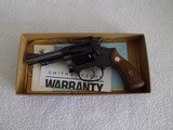 """Smith & Wesson 433.5"""" Blued.22 rimfireANIB"""