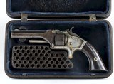 MODEL No.1 2ND ISSUE>>> SMITH & WESSON .22 RF,with a Case.