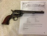 Colt Single Action army 45 cal. With Colt letter, Cowboy look