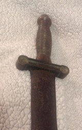 Confederate foot artillery sword, E.J. Johnston Macon GA. ( Authentic ) - 13 of 14