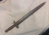 Confederate foot artillery sword, E.J. Johnston Macon GA. ( Authentic ) - 2 of 14