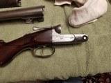 Parker D H grade 12 gauge double with Damascus barrels - 5 of 7