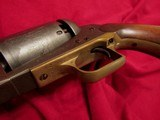 Walker Marked Colt B Co. No. 50, Coffin-Style Walnut Case with Accessories - 14 of 20