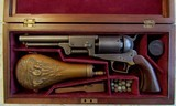 Colt Whitneyville Hartford Dragoon, 44 Cal, Cased with Accoutrements