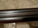 Remington 1874 Whitmore ( SN # 19) 12 Ga. Shotgun, Early Engraved Barrel Address - 3 of 20