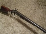 Remington 1874 Whitmore ( SN # 19) 12 Ga. Shotgun, Early Engraved Barrel Address - 16 of 20