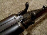 Remington 1874 Whitmore ( SN # 19) 12 Ga. Shotgun, Early Engraved Barrel Address - 4 of 20