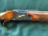 1960 Browning Midas 20 Ga. Double signed by Vrancken, prototype.