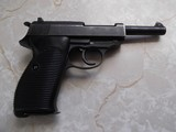 Walther P-38, Coded SVW 45, w/holster, 3 clips and 2 grips; metal and plastic - 3 of 7