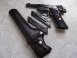 Hi Standard Sport King Model 103, .22 long rifle. w/ holster and 3 clips