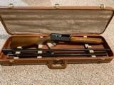 Browning Model 2000 (B-2000) 2 Barrels, Browning Hard Case, 12 gauge
