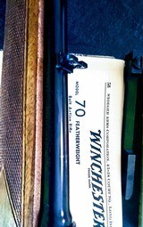 Winchester featherweight model 70 270 1955 pre 64 .270 win - 3 of 5