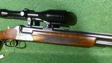 Sauer&Sohn O/U shotgun rifle combo 7x57R 16GA Zeiss Diatal - 7 of 8