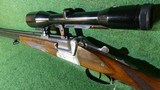 Sauer&Sohn O/U shotgun rifle combo 7x57R 16GA Zeiss Diatal - 5 of 8