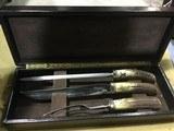 Randall Made Knives Cutlery Set - Rick Bowles Scrimshawed