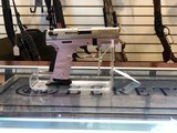 Walther P22 22LR Stainless Steel Slide Pink Frame