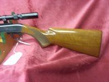 Browning 22 auto grade 1 Belgian made 22 long rifle with bushnell sportview scope - 2 of 5