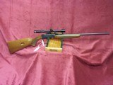 Browning 22 auto grade 1 Belgian made 22 long rifle with bushnell sportview scope - 4 of 5