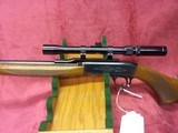 Browning 22 auto grade 1 Belgian made 22 long rifle with bushnell sportview scope - 3 of 5