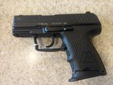 HECKLER & KOCH MODEL P2000SK 9MM WITH CASE
