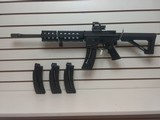 USED SMITH AND WESSON M&P 15-22 SPORT 22 CAL LONG RIFLE WITH 3