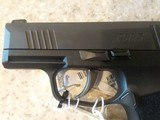 NEW SIG SAUER MODEL 365 9MM WITH HARD PLASTIC CASE, LOCK,EXTRA MAG,MANUALS - 5 of 10