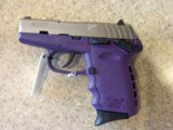 NEW SCCY CPX 1 SS 9MM 10ROUND PURPLE AND STAINLESS