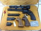 USED DAN WESSON 357 MAGNUM PISTOL PACK COMPLETE WITH ORIGINAL HARD CASE price reduced was $1599.99