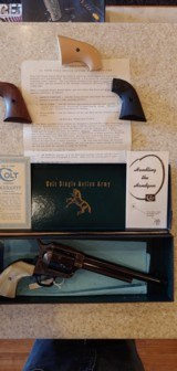 Used Colt SAA 38 special DOM 1956 - 4 of 21