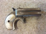 Used Remington Derringer #765 in original wood box and includes 200 rounds of 41 Short Rim Fire Ammo. Very Nice Piece! - 12 of 16