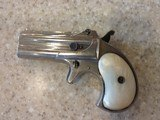 Used Remington Derringer #765 in original wood box and includes 200 rounds of 41 Short Rim Fire Ammo. Very Nice Piece! - 8 of 16