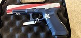 Used Glock Model 34 9mm Original Box Un-fired Custom Paint Job - 3 of 19