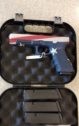 Used Glock Model 34 9mm Original Box Un-fired Custom Paint Job - 1 of 19