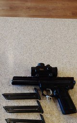 Used Ruger 22/45 22LR Good Condition with Scope and extra mags