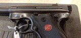 Used Ruger Mark III 22LR with case and extras - 3 of 15