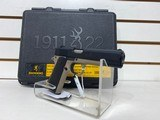 Used Browning 1911 22 Cal with case and extras good condition - 6 of 7